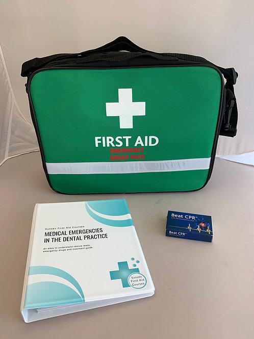 Dental Teams Medical Emergencies Rescue Kit - Silver