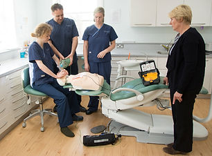 Dentist CPD medical BLS and AED training
