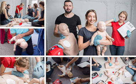 Paediatric First Aid Courses and blended learning options