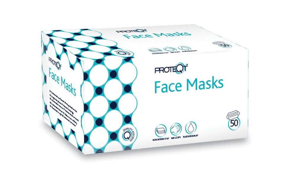 Face Masks Non-Woven 50