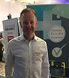 Garry Perkins HCPC Paramedic at Sussex first aid courses recruitment.