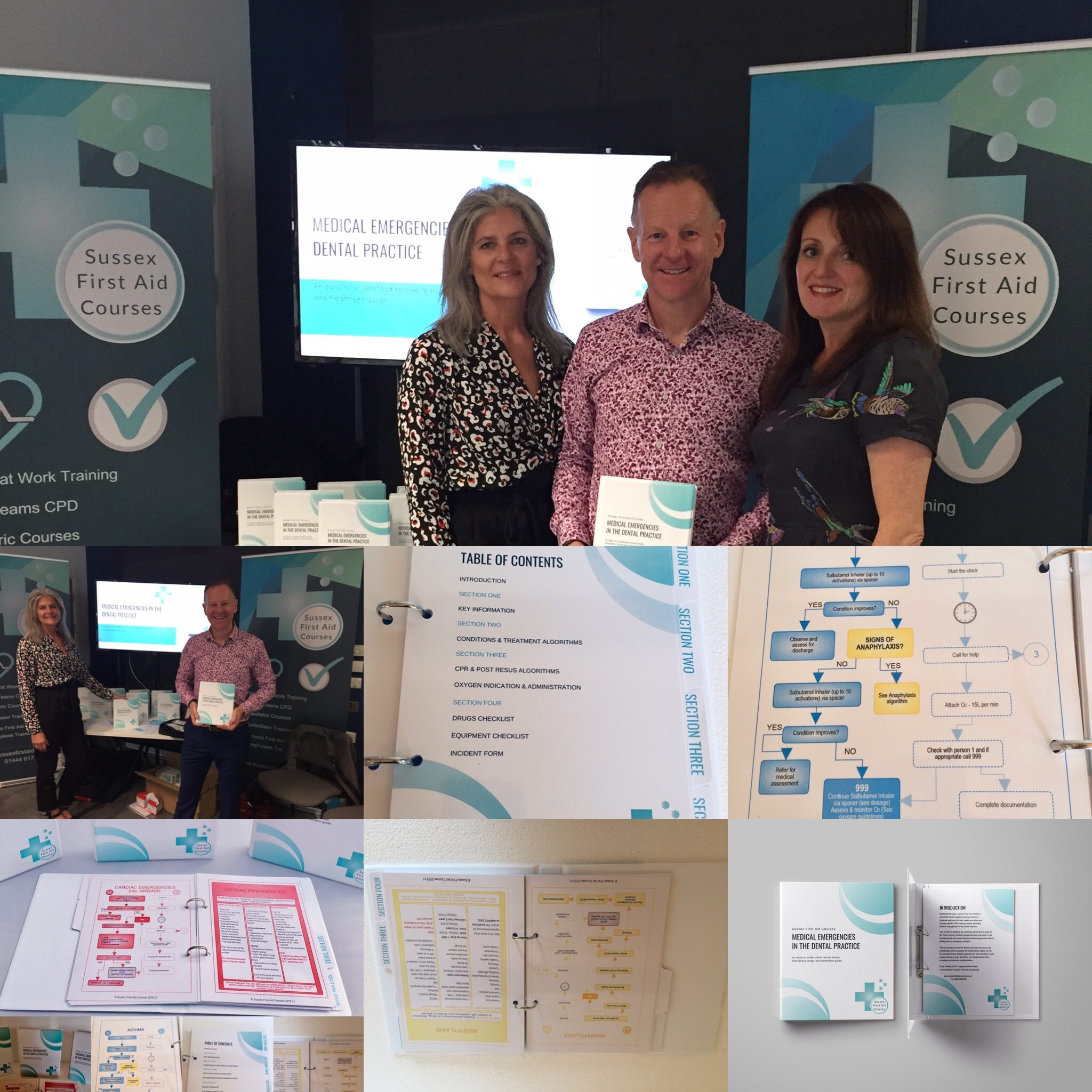 Launch of or colour coded dental medical