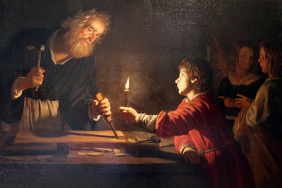 Saint-Joseph-the-Worker-and-Christ-58b5a