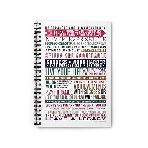 Daily Motivation Notebook