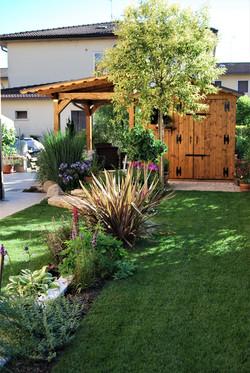 Piccolo giardino privato