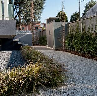 progetto giardino privato di semplice gestione