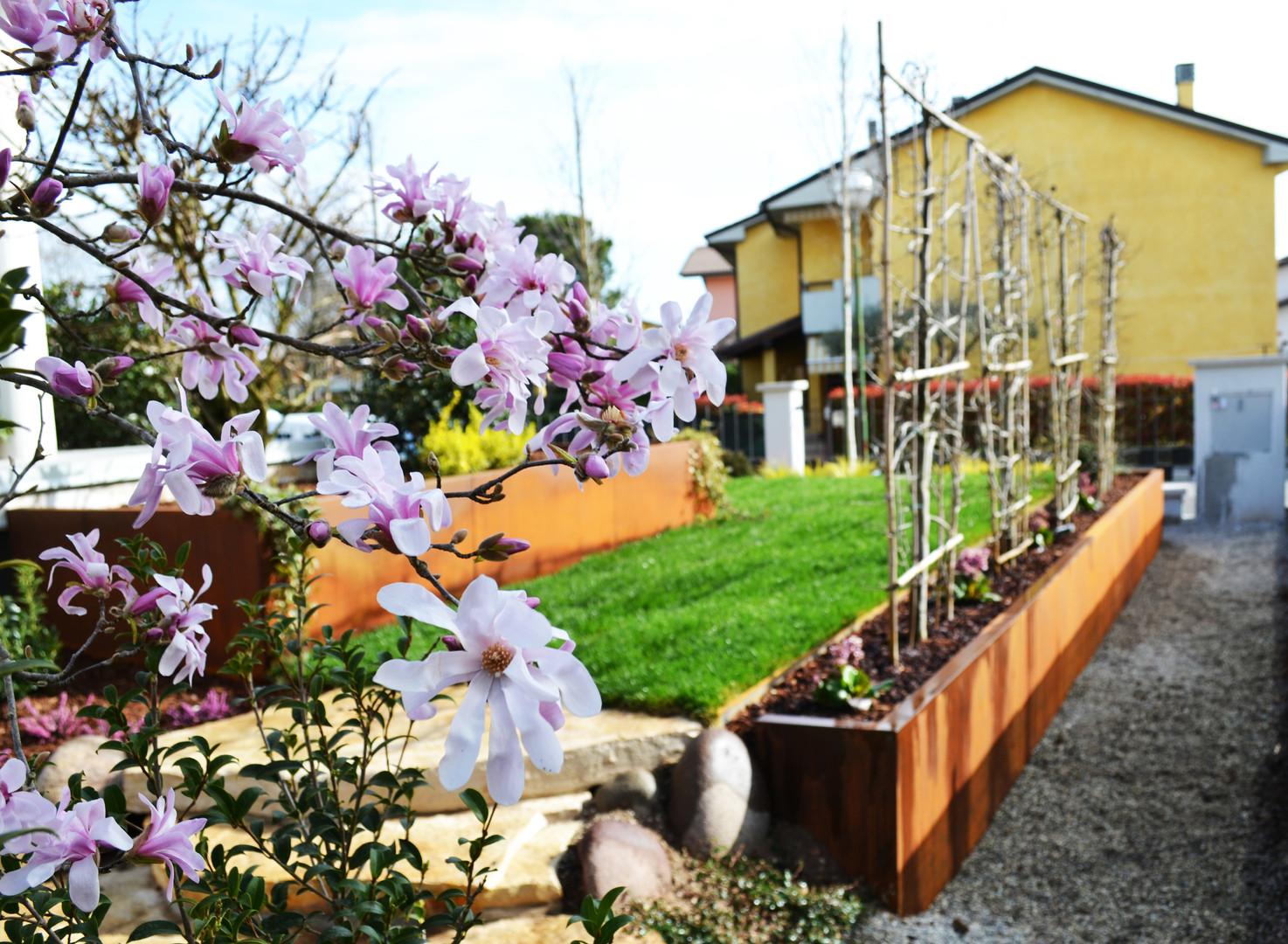 Giardino privato a Valeggio sul Mincio, VR