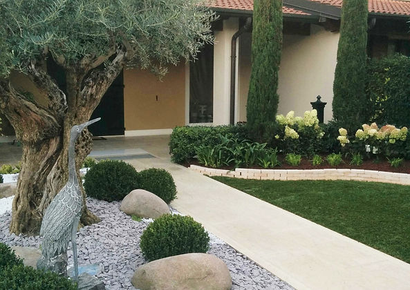 Progettazione e realizzazione giardini Verona - Villafranca