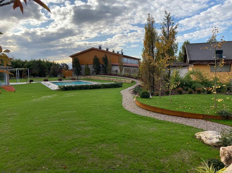 Giardino privato a Zevio, VR