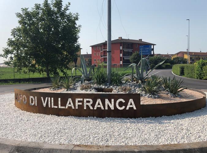 Rotonda Alpo di Villafranca di Verona