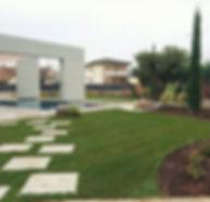 giardino privato a Verona