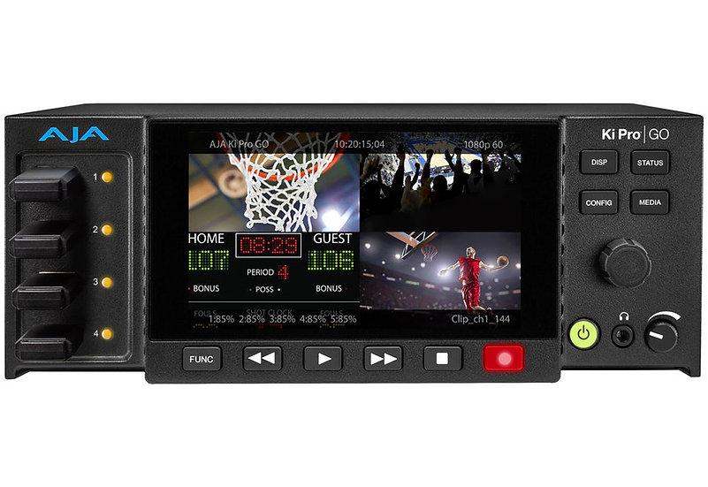 AJA KiPro GO Multi-channel h.264 Recorder