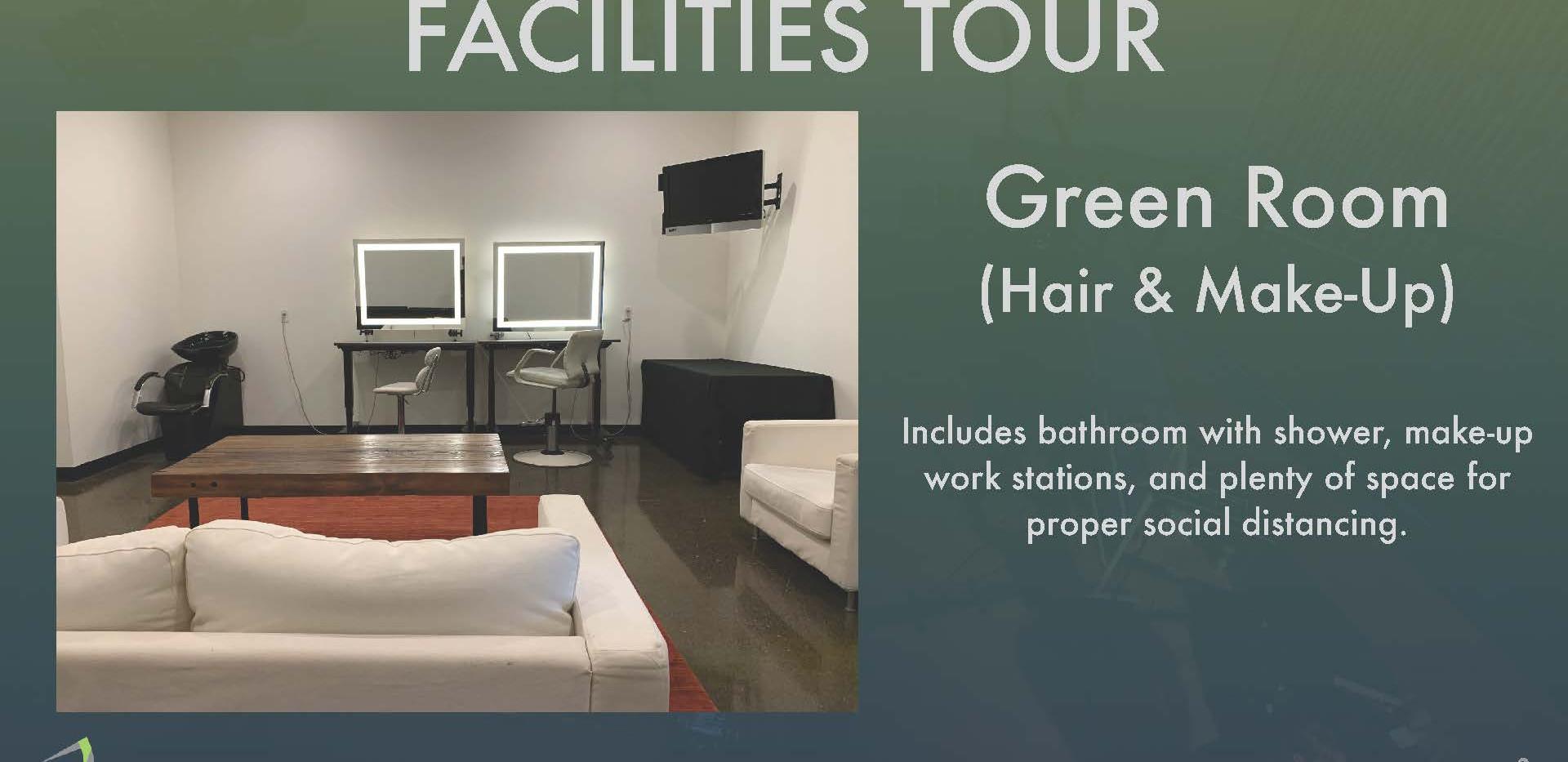Facilites Tour - Green Room