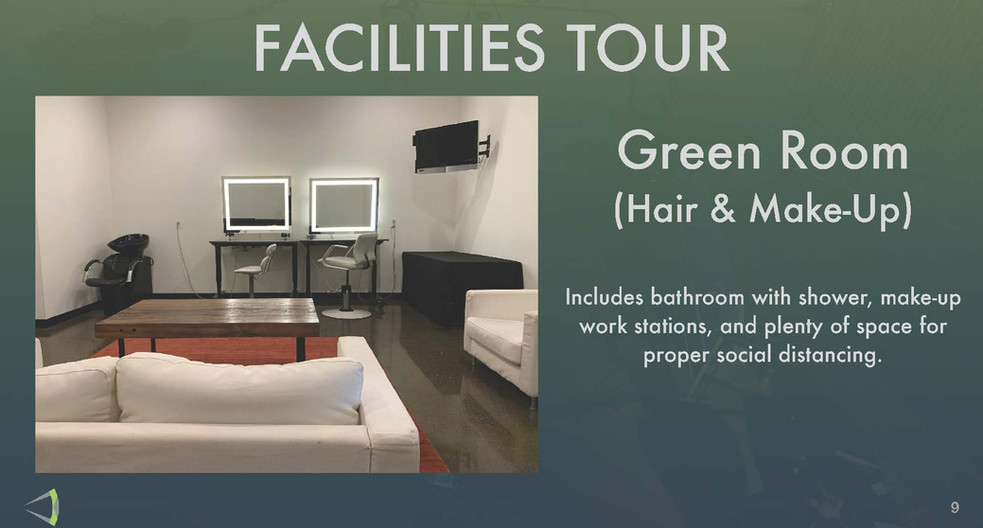 Facilites Tour - Green Room