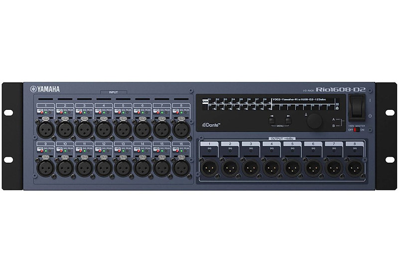 Yamaha Rio1608-D2 Rio Series 16-in/8-out Remote Stage Box