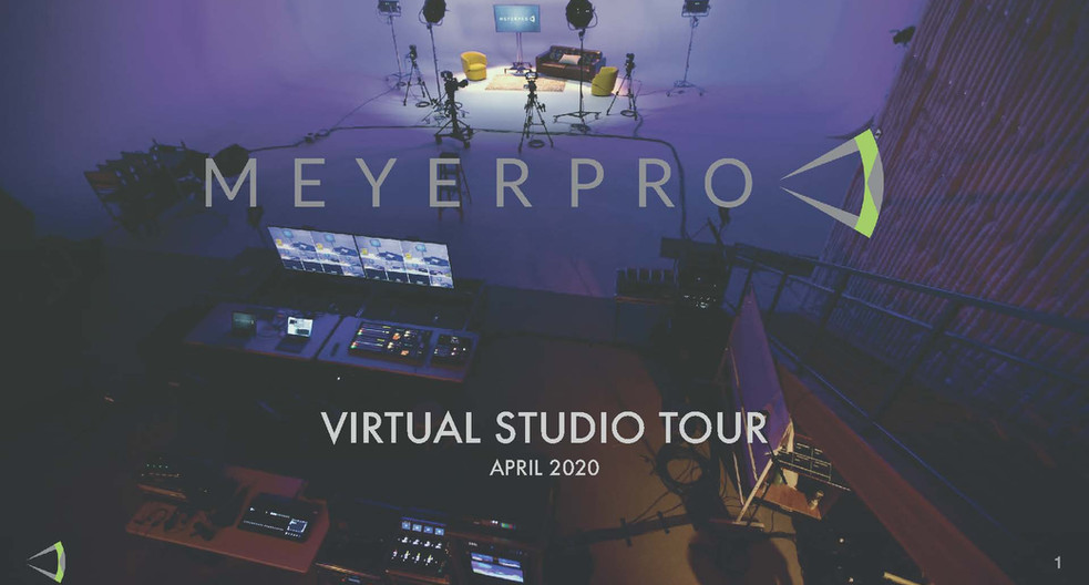 Virtual Studio Tour