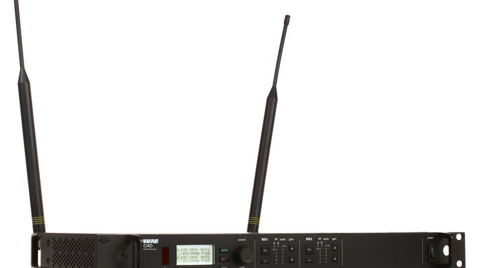Shure ULX-D Wireless Package