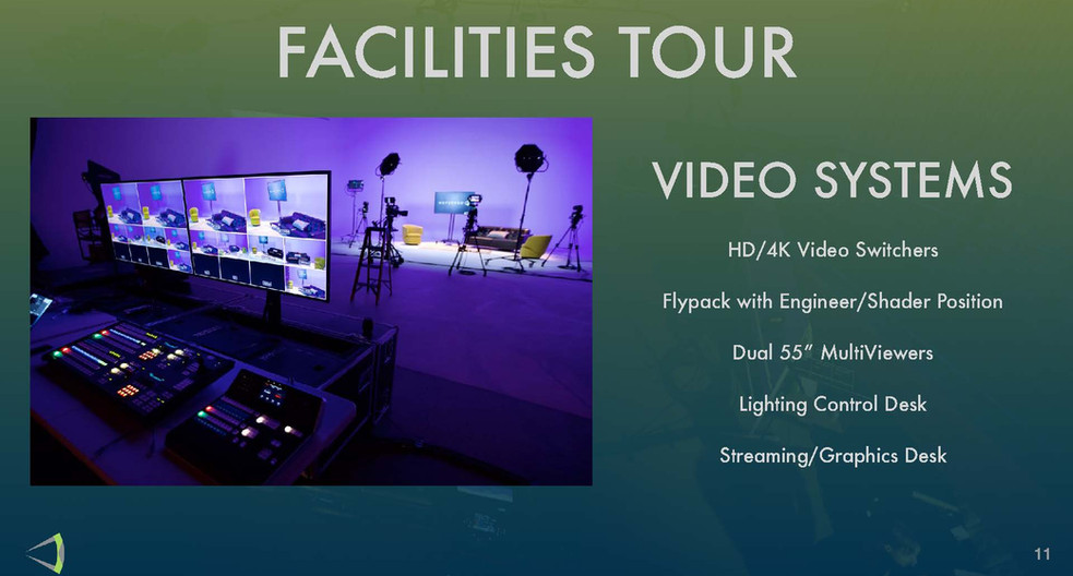 Facilites Tour - Video Systems