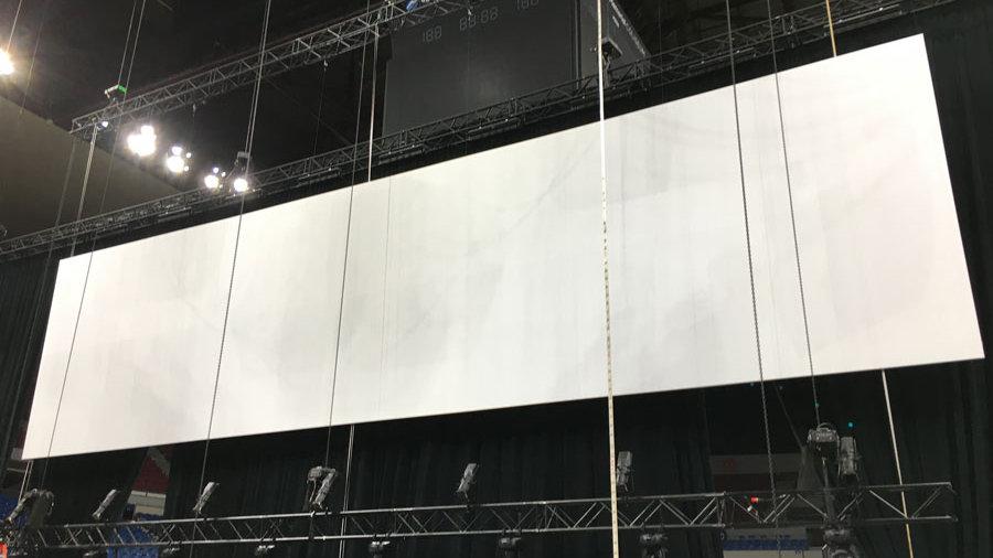 12' x 36' Ultra-Wide Borderless Screen