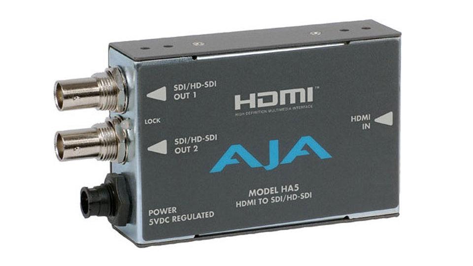 AJA Ha5 HDMI to SDI Video and Audio Converter