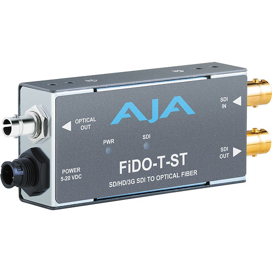 AJA FiDO 3G-SDI to Fiber Mini Converter - Transmit