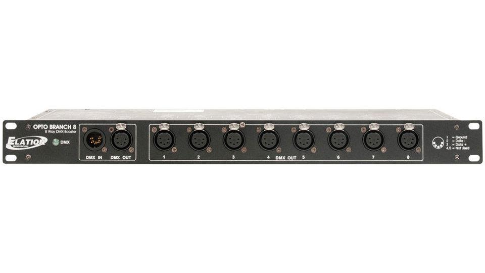 Elation Professional Opto Branch 8 DMX Distributor/Booster