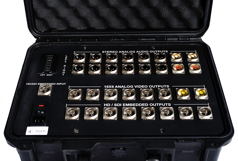Press Mult HDSDI 1x8 w/Analog