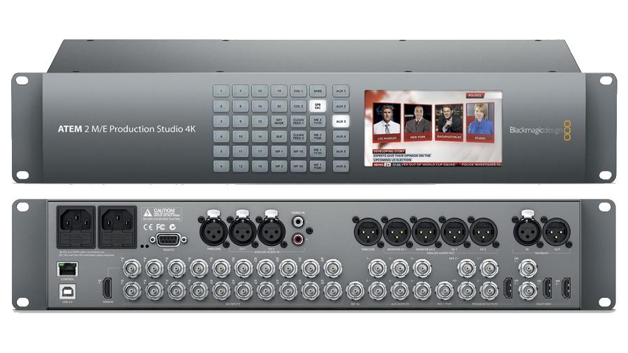 Blackmagic 2 M/E 4K Switcher