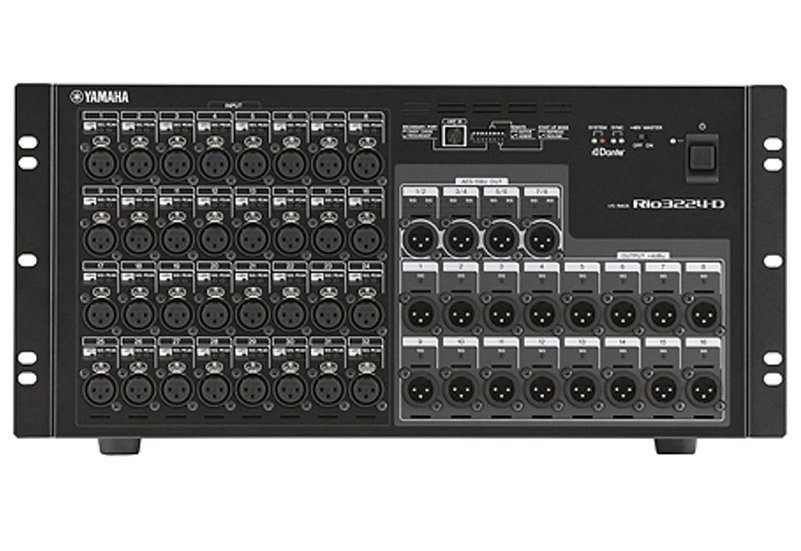 Yamaha Rio3224-D Rio Series 32-in/16-out Remote Stage Box