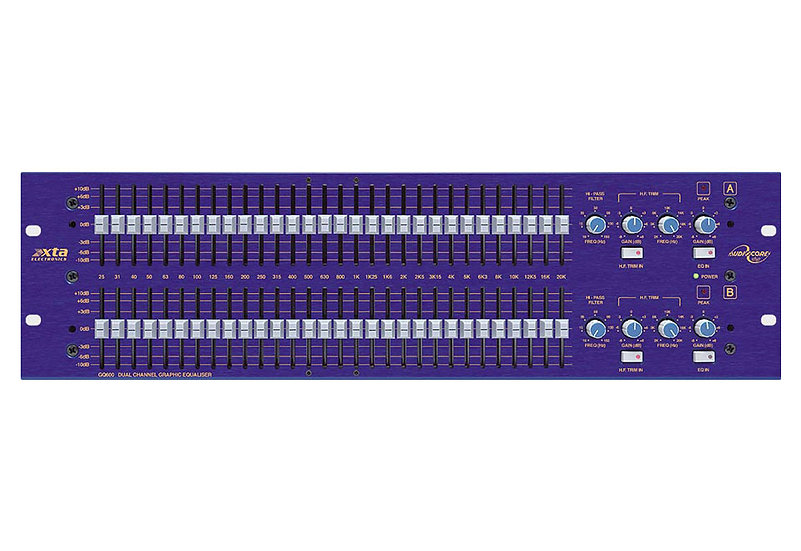 XTA GQ600 Dual Channel Graphic Equalizer