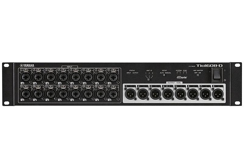 Yamaha Tio1608-D Dante-Equipped I/O Rack