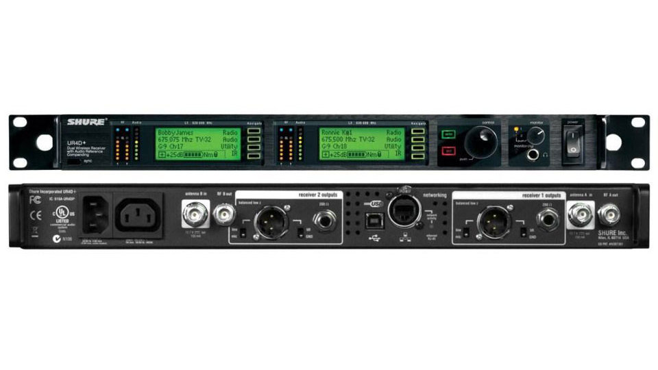 Shure UHFR Wireless Package