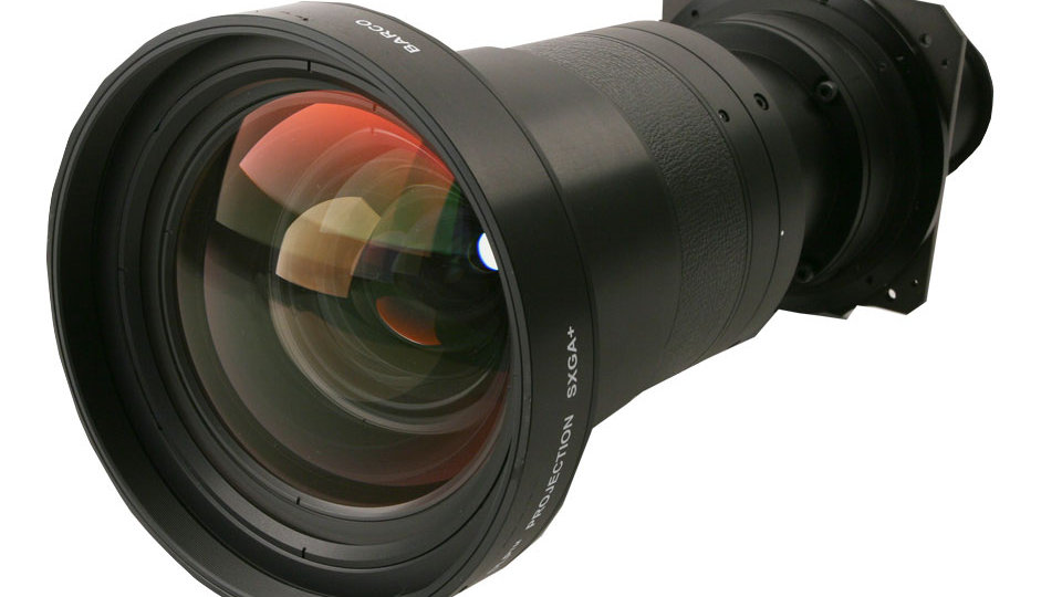Barco TLD+ Wide HD 1.1:1 Lens