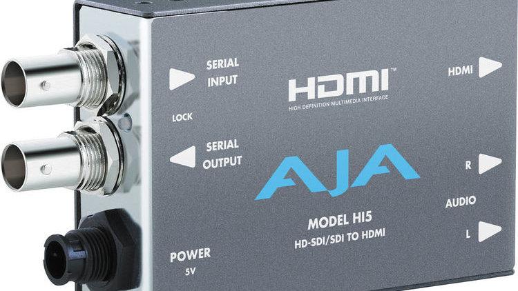 AJA Hi5 SDI to HDMI Video and Audio Converter