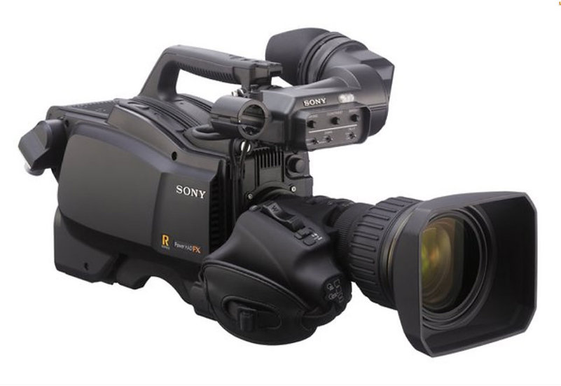 Sony HSC-100R Digital Triax Broadcast Camera