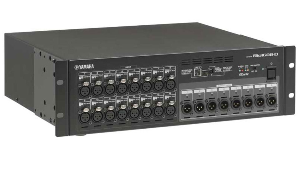Yamaha Rio1608-D Rio Series 16-in/8-out Remote Stage Box