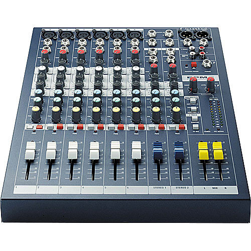 Soundcraft EPM 8-Channel Mixer