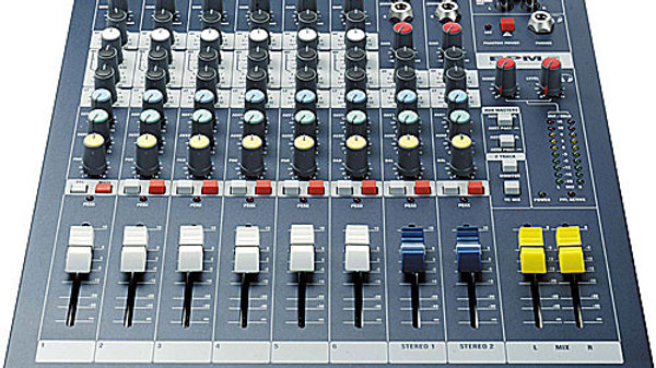 Soundcraft EPM 8-Channel Mixer