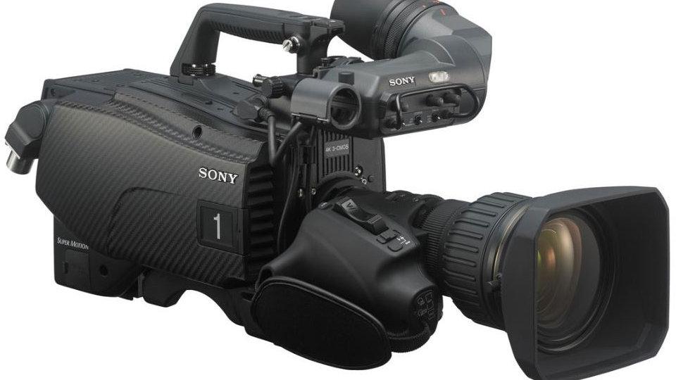 Sony HDC-4300 4KHD Broadcast Camera