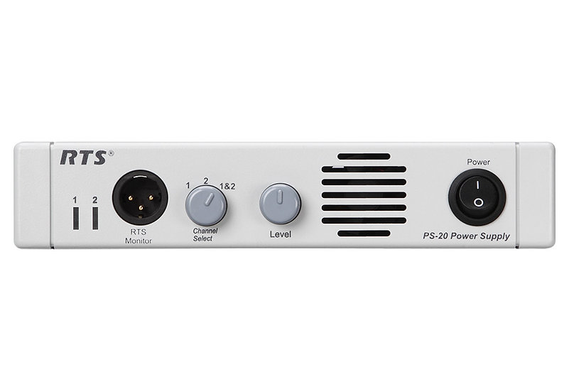 RTS PS-20 Intercom Power Supply