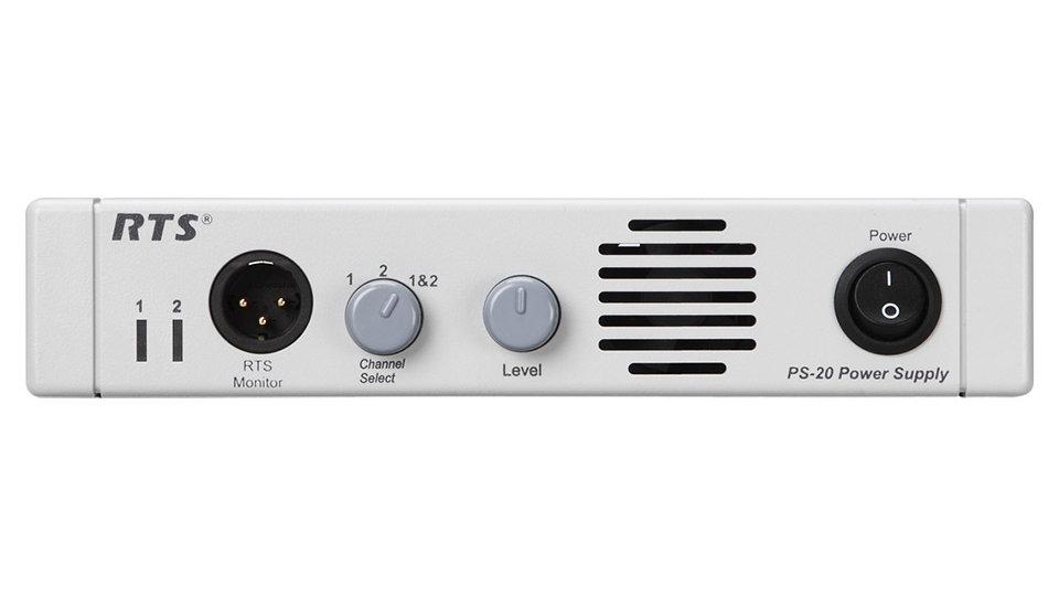 RTS PS-20 Intercom Power Supply