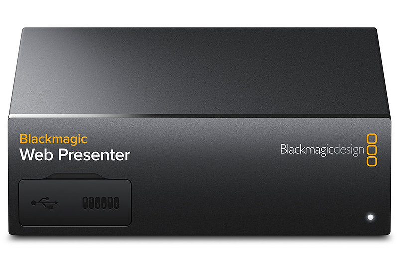 Blackmagic Design Web Presenter