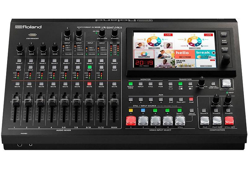 Roland VR-50HD MKII Multi-Format AV Mixer