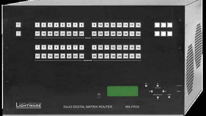 Lightware MX-FR33L DVI Router
