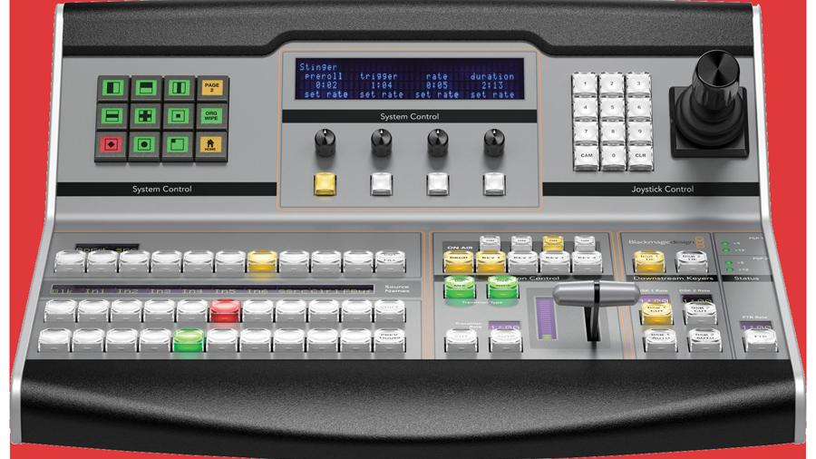 Blackmagic 1 M/E Switcher Control Panel