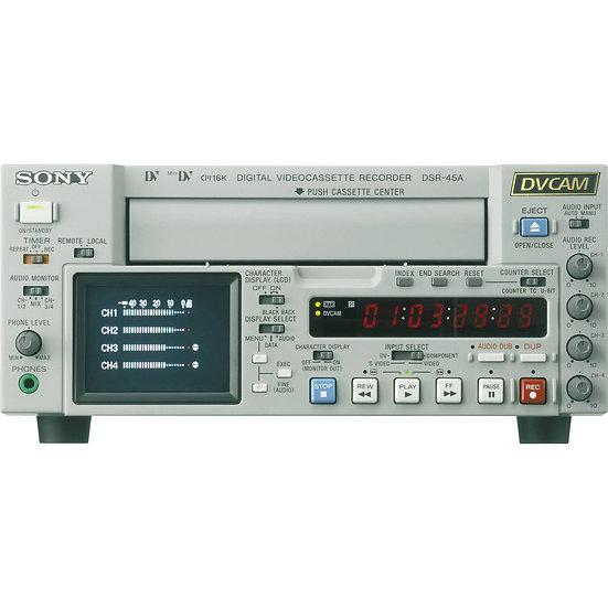 Sony DSR-45 DVCAM Compact Desktop Recorder
