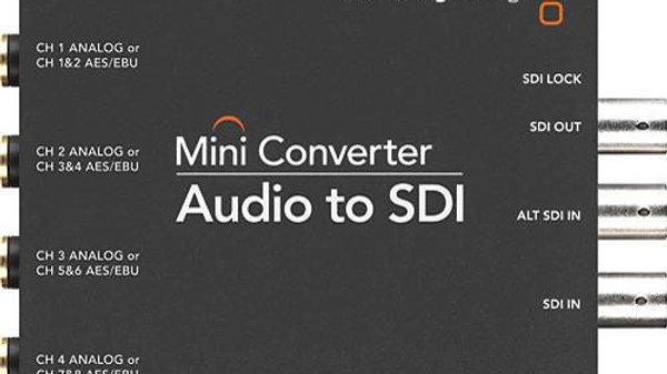 Blackmagic Design Mini Converter Audio to SDI