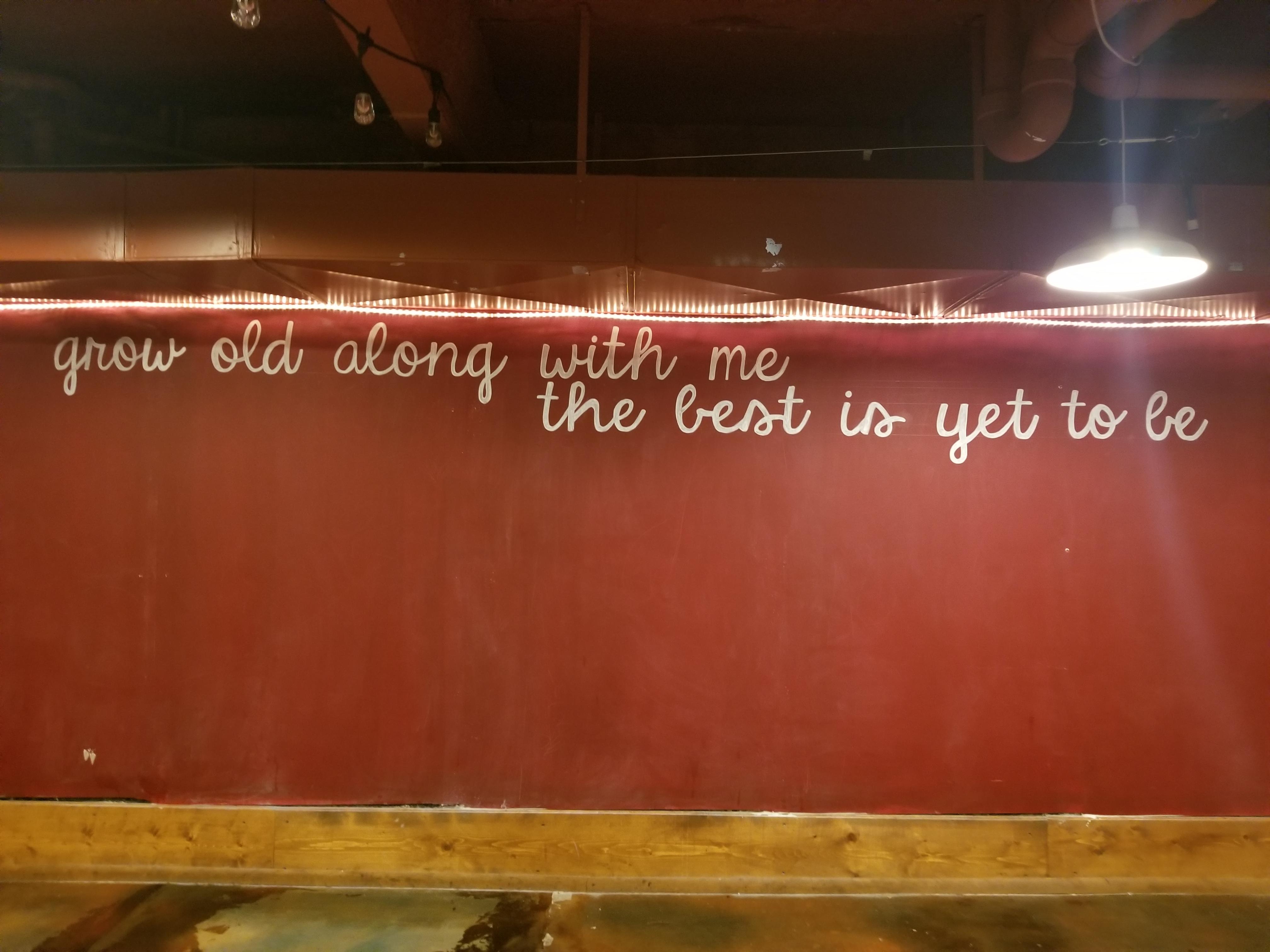 Talon Room Chalkboard Wall