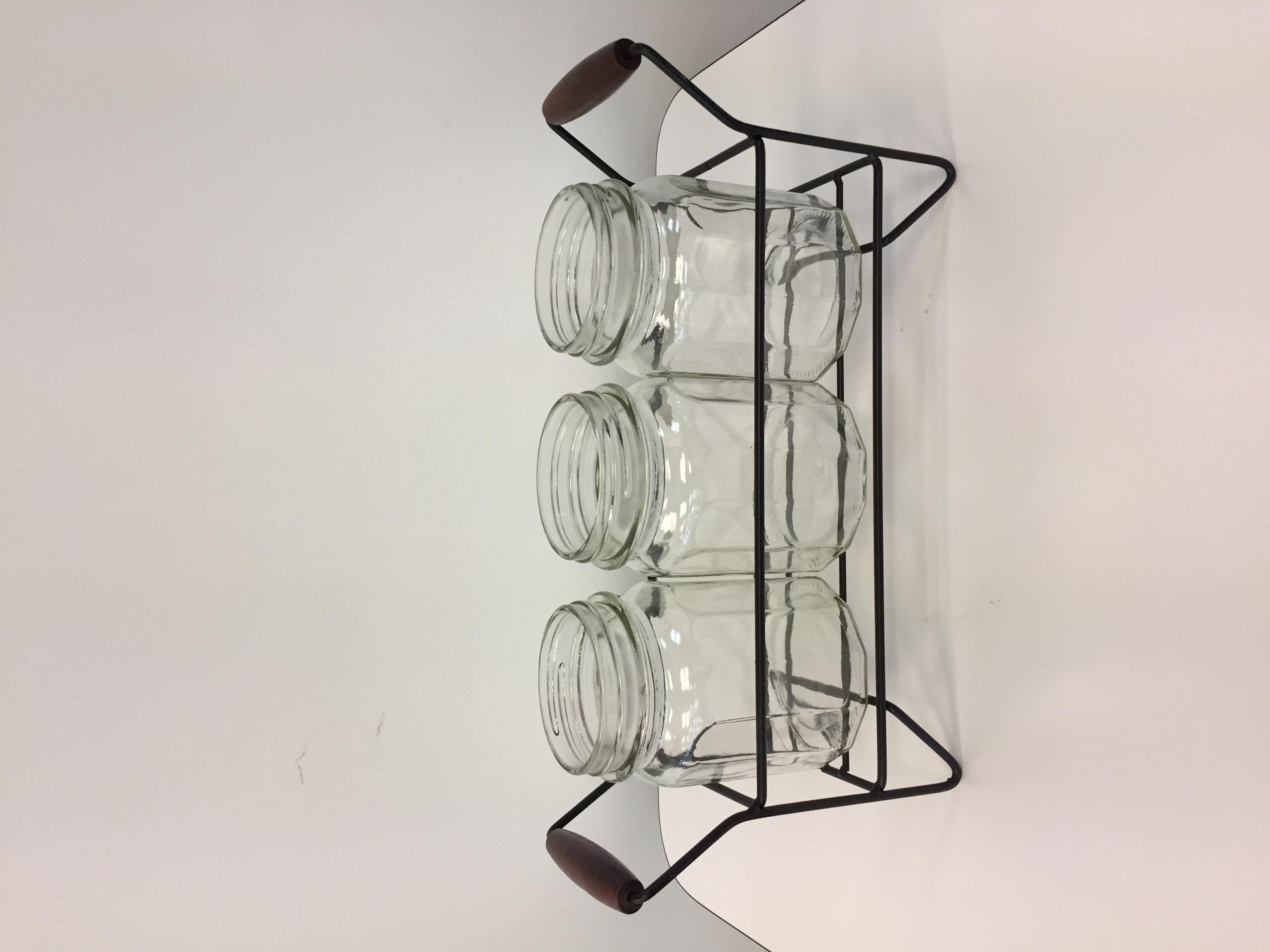 3 Jar Buffet Caddy