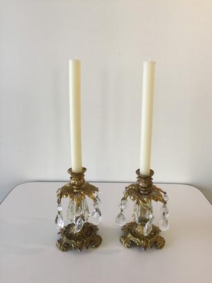 Gold Ornate Candlesticks